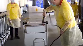 桃機空側首次出現確診 1外包商人員遭友感染