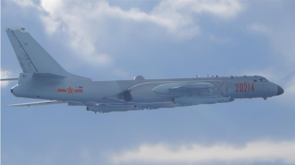 共軍1架運8反潛機擾台 空軍兵力應對