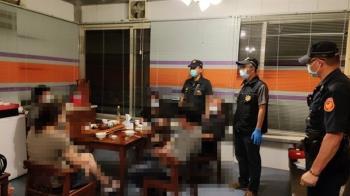 南投5人群聚吃飯 警察登門直接痛失85萬