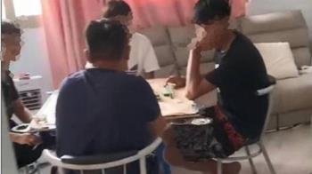台中7人群聚打麻將 嗨一半警察破門祭重罰慘了