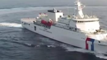太平島1海巡疑確診個案隔離中 出動嘉義艦載運