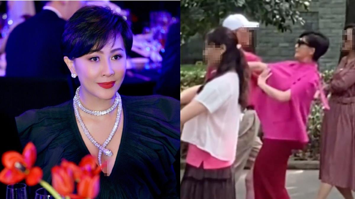 劉嘉玲擠大媽堆「跳廣場舞」 無違和感沒人認出