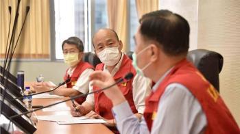 韓國瑜出手了!霸氣捐萬份醫療物資:自己的人民自己救