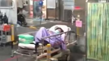 病患置戶外影片引議 部立台北醫院澄清:入院治療前等待採檢