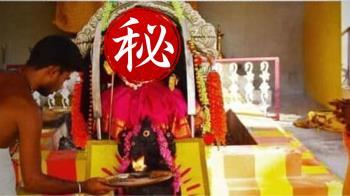 寺廟供奉「新冠病毒女神」真面目曝 信眾搶拜求疫情穩定