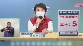 媽媽市長急了!盧秀燕罕見重話 三問中央「疫苗呢」
