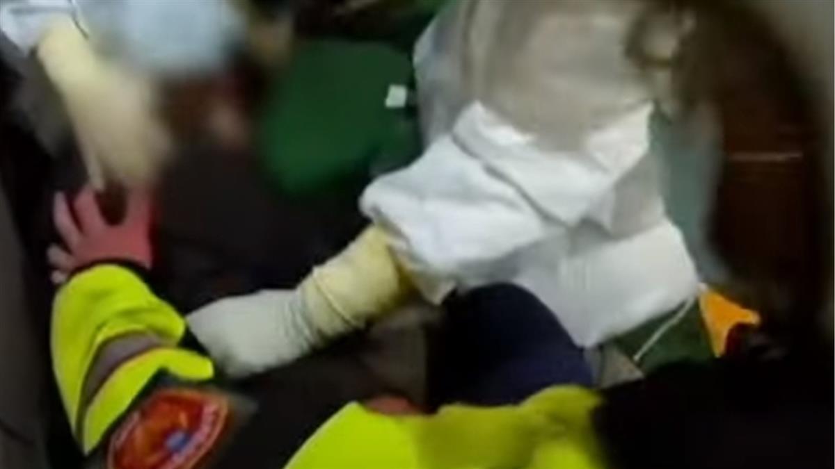 輕症確診者大鬧急診室 砸隔離窗、亂關氧氣瓶