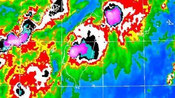 彩雲颱風20:40解除警報 周末梅雨鋒面來襲「雨更大更廣」