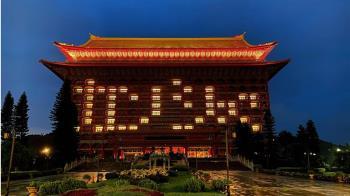 台北101喊友誼長存 圓山飯店也點燈謝千里送暖