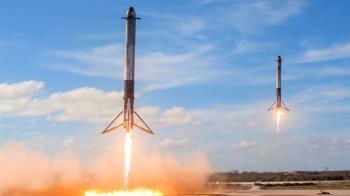 加州飛日本只要30分鐘 美空軍研發「火箭快遞」空投物資