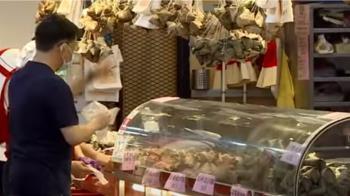 疫情衝擊南門市場 粽子老店嘆「生意至少掉一半」
