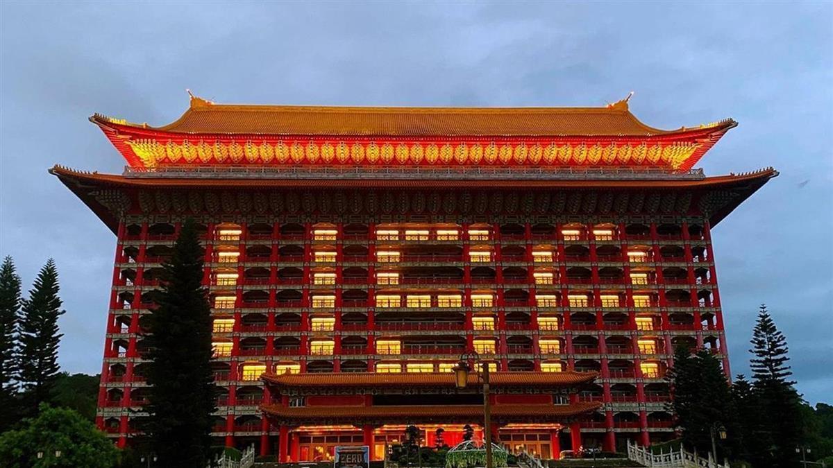 捐贈台灣75萬劑疫苗 圓山飯店點燈感謝美國