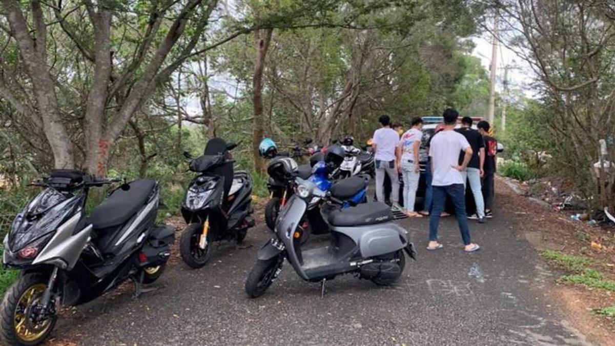 彰化11車友戶外聚會嗨玩 遭警當場抓包恐重罰330萬