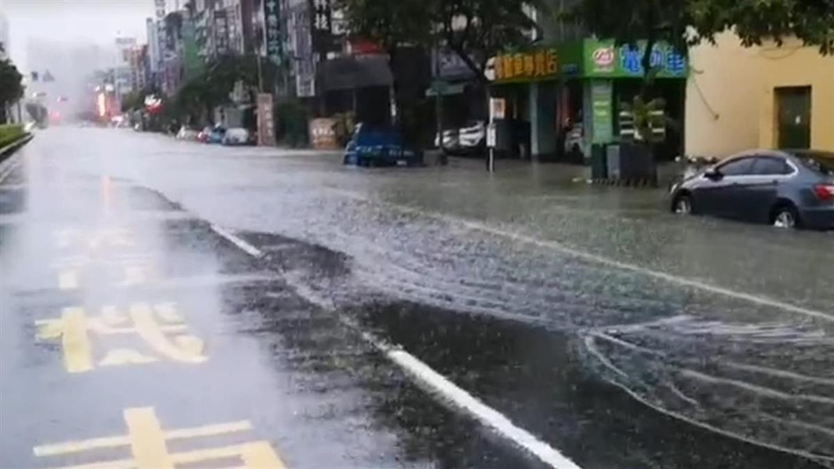 快訊/午後雨彈強襲!雙北14縣市大雨特報 留意雷擊