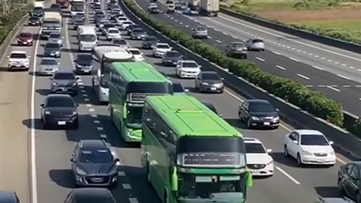 阻斷端午車潮 高公局取消開放路肩優惠里程