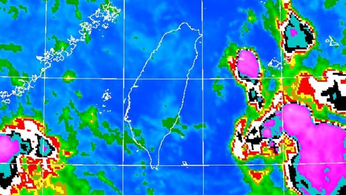 今高溫33度!午後雷陣雨連下7天 中南部大量降雨時間曝