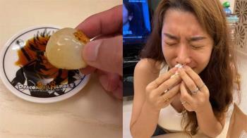 納豆在家實測「荔枝+醬油=鮭魚味」女友吃完皺眉哭了