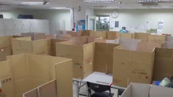矽品員工爆料!40移工群聚洗衣 休息室用紙箱隔板