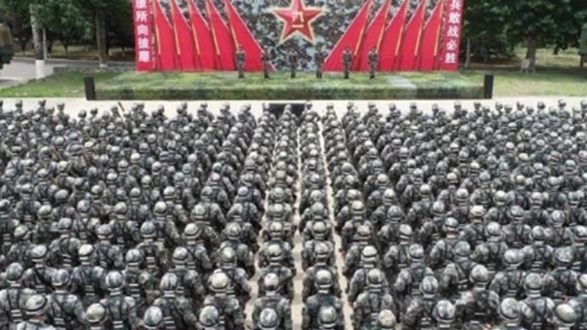 解放軍80軍團PO文喊「準備打仗」 53秒演習片超震撼