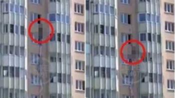 酗酒婦遭尪反鎖在家 「綁床單垂降9樓」下秒斷裂慘死