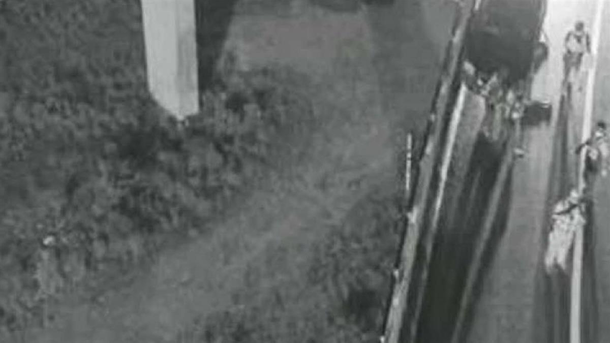 台中男國道自撞!遭噴飛7樓高空 臟器外露亡