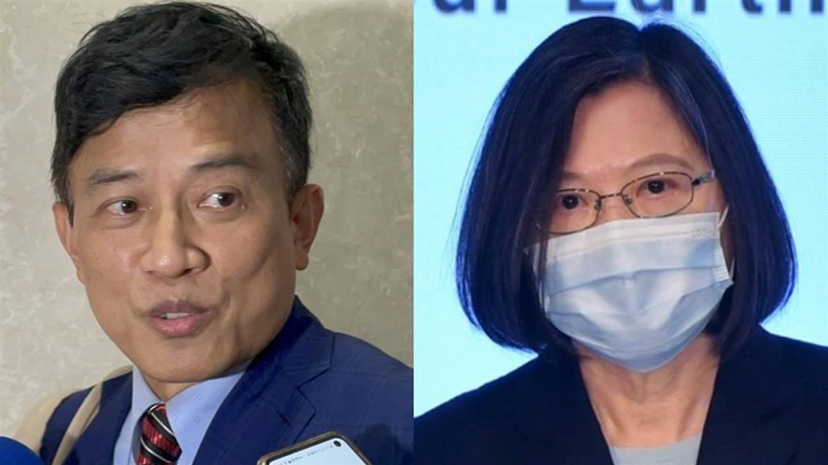 彭文正稱蔡英文已打輝瑞疫苗 總統府:謠言