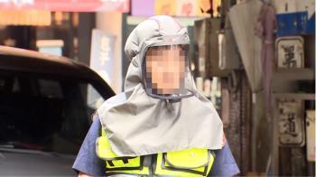 北市警自掏4萬買「動力呼吸系統」 民眾喊:超像外星人