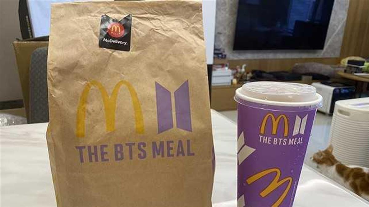 麥當勞「BTS紙袋」二手價飆50萬!阿滴痛批:智商受侮辱