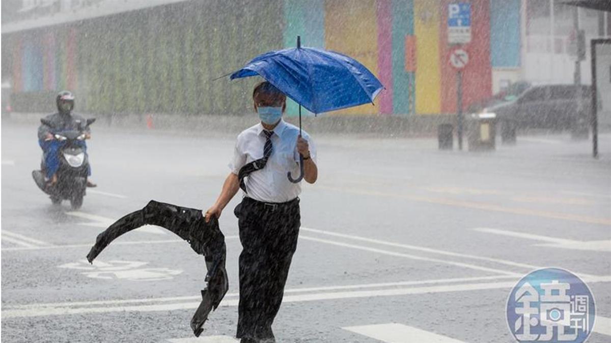 梅雨鋒面回來了!威力不輸前2波 一張圖秒懂10日天氣