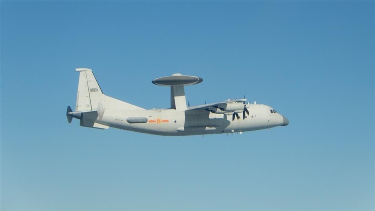 28架共機擾台破紀錄 空軍緊急廣播驅離