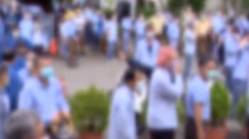 六輕1.3萬人大普篩 員工群聚場面一度亂