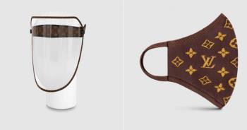防疫也要時尚!LV防護面罩「要價3萬」網驚:誰會買?