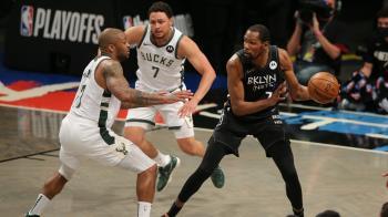 杜蘭特打滿全場奪49分大三元 籃網逆轉公鹿聽牌
