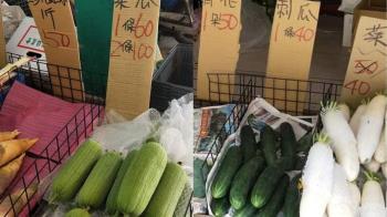 貴到誇張!台北市場「菜瓜1條60元」知情人揭菜價飆漲真相