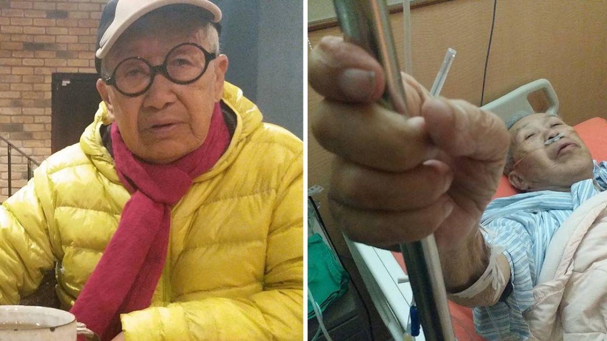 90歲脫線驚傳發燒37.8度!兒證實了:觀察中