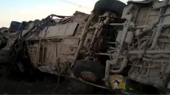 祕魯巴士墜深谷!車體噴飛成廢鐵 至少27死12傷