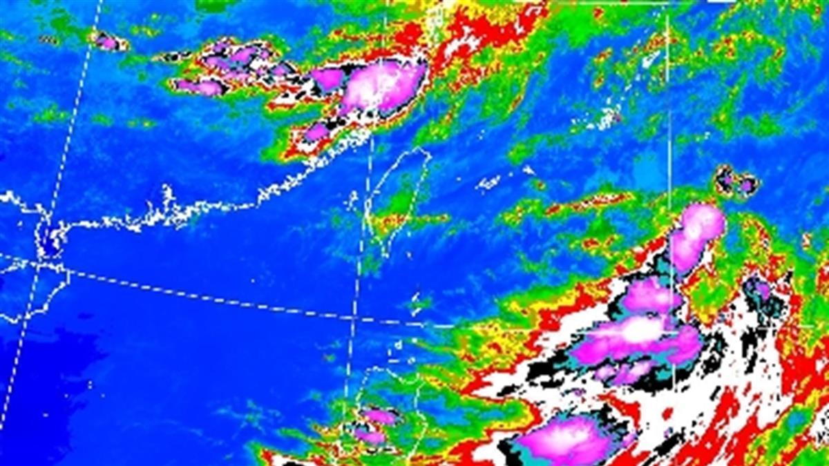 梅雨要來了!這天起雨彈開炸3天 一圖看懂雨怎麼下