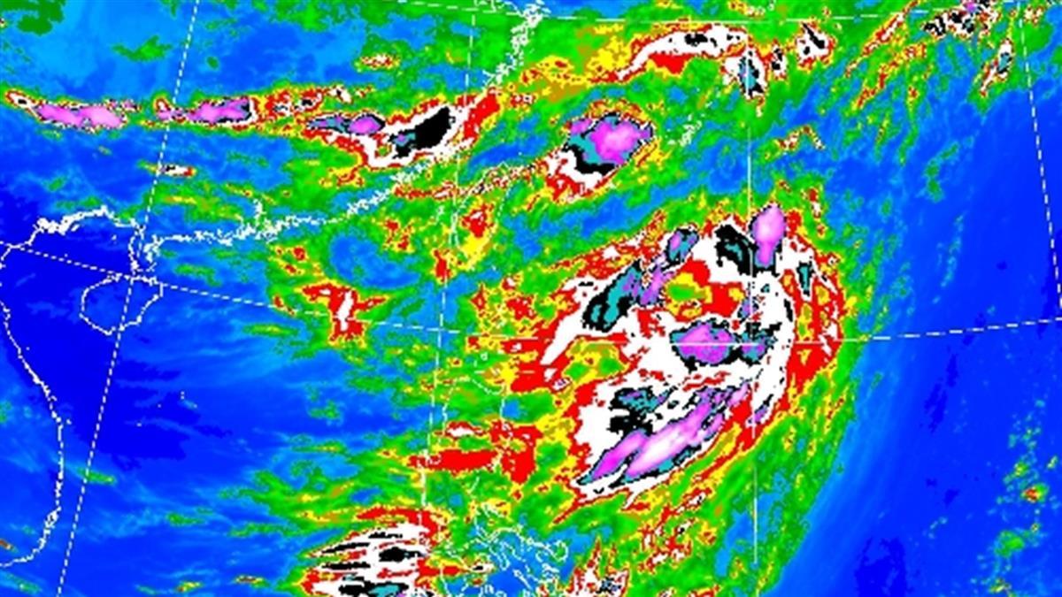 易致災滯留鋒要來了!大雨狂炸2地區 一圖秒懂下周天氣