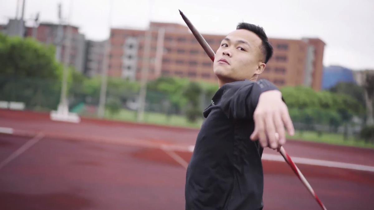 台灣標槍第一「黃金右臂」!鄭兆村「擲」進東京奧運