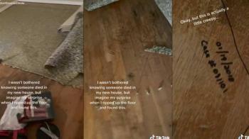 新家地毯下藏「詭異人型黑線」 網友驚喊:快搬走!