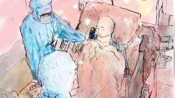 6旬翁染疫病逝醫院 耳邊手機傳啜泣「爸爸,你好好走」