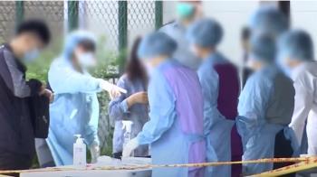 國軍桃園總醫院院內感染13確診 院區急快篩1385人