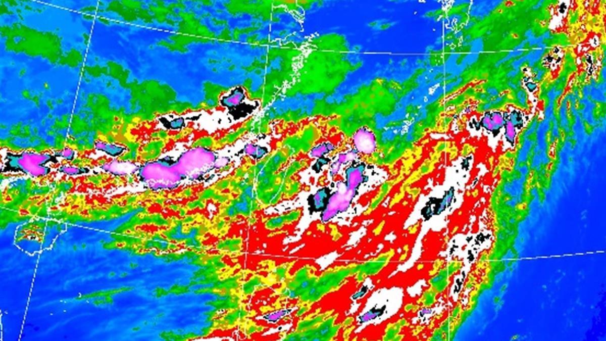 劇烈豪雨要來了!這天起雨彈連炸7天 狂灌這些地區