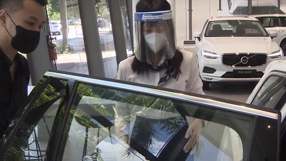 VOLVO賞車、售後保養 防疫全升級守護車主員工