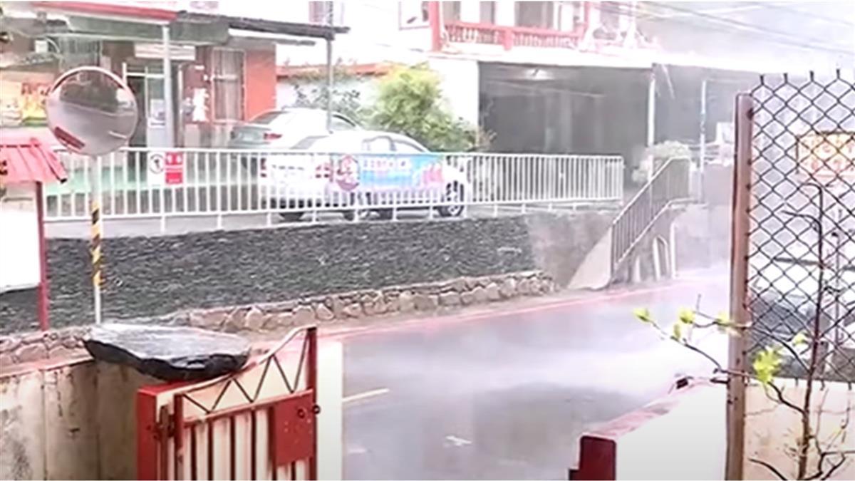 雨量估逾200毫米 六龜、甲仙、茂林、桃源、那瑪夏停班停課