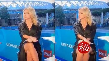 體育主播疑「沒穿內褲」 她笑回:重播率勝冠軍賽