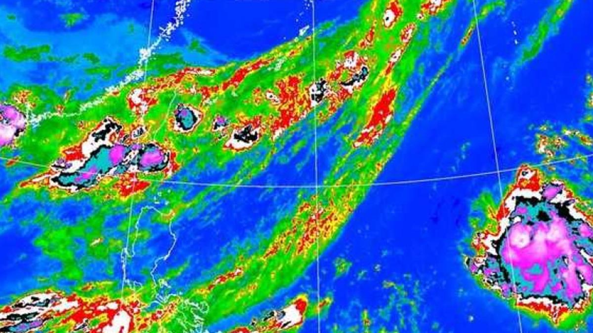 薔琵颱風生成了 「北上大迴轉」最新路徑曝光