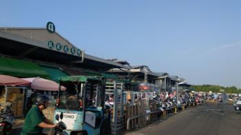 台南加強果菜市場防疫 1800名員工打疫苗