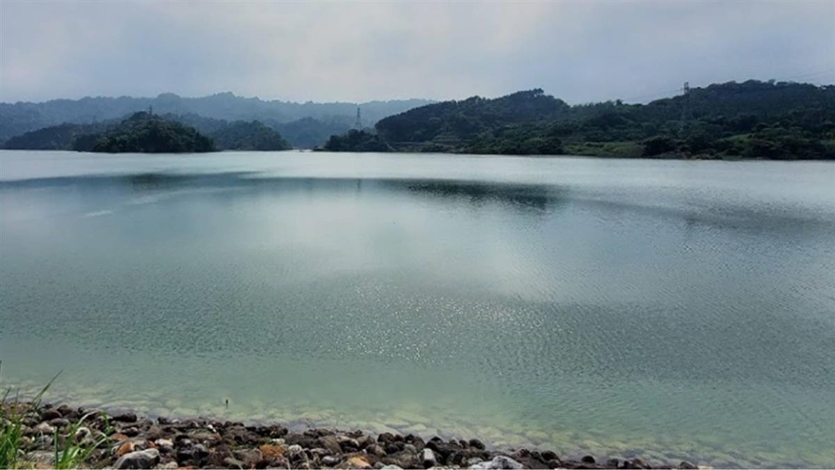 雲林湖山水庫滿水位 預估自然溢流3天