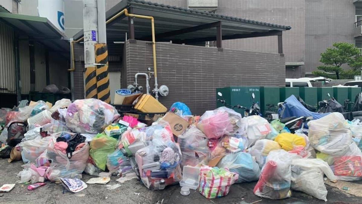 京元電大街「炸成垃圾山」 超驚悚 曾玟學曝恐怖亂象